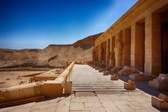 temple of queen Hatsepsut stock photos