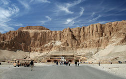 The Temple of Queen Hatshepsut Stock Photography
