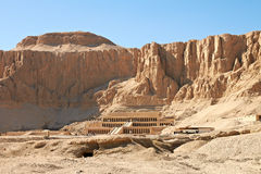 Temple of Queen Hatshepsut. Temple between the Valley of Kings and the Valley of Queens, Luxor, Egypt Stock Photography