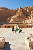 Temple of Queen Hatshepsut. Temple between the Valley of Kings and the Valley of Queens, Luxor, Egypt Stock Photo