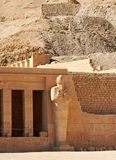 Temple of Queen Hatshepsut. Temple between the Valley of Kings and the Valley of Queens, Luxor, Egypt Stock Image