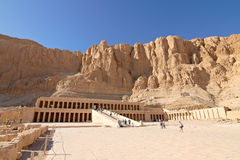 Temple of Queen Hatshepsut. Temple between the Valley of Kings and the Valley of Queens, Luxor, Egypt Stock Photos