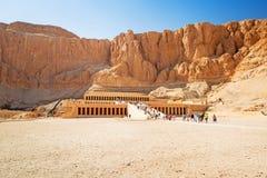 Temple of Queen Hatshepsut in Egypt Stock Photography