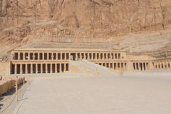 The Temple of Queen Hatshepsut at Luxor (Egypt ) Stock Photography