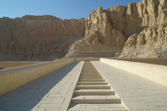 The temple of Queen Hatshepsut in Luxor, Stock Photos