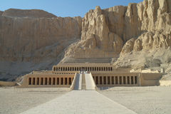 The temple of Queen Hatshepsut in Luxor, Royalty Free Stock Photos