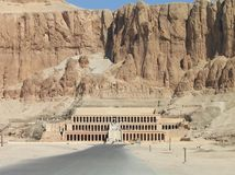 Temple of Queen Hatshepsut, in the Valley of the Kings, Egypt stock image