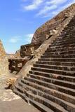 Temple of quetzalcoatl VII, teotihuacan Stock Image