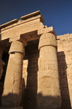 Temple of Rameses III Royalty Free Stock Photo