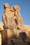 Temple of Rameses III Stock Images