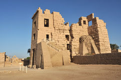 Temple of Rameses III Royalty Free Stock Photography