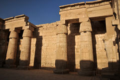 Temple of Rameses III Stock Photography