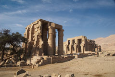 Temple of Ramesses II Stock Photos