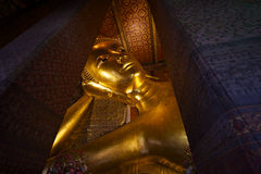 Temple of the Reclining Buddha Bangkok Thailand Royalty Free Stock Image