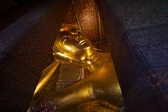 Temple of the Reclining Buddha Bangkok Thailand Royalty Free Stock Image