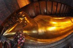 Temple of the Reclining Buddha,Wat Pho, Bangkok Stock Photos