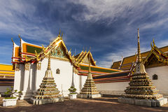 Temple of Reclining Buddha, Wat Pho, Bangkok Royalty Free Stock Photos