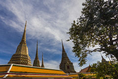 Temple of Reclining Buddha, Wat Pho, Bangkok Stock Photo