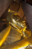 Temple of the Reclining Buddha (Wat Pho), Landmark and No. 1 tourist attractions in Thailand. Stock Images
