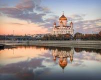 Temple reflété Photographie stock libre de droits