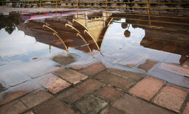 Temple and reflection Stock Photos