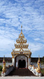 Temple of relics. The temple name is pratus jom ping. It is in lumpang thailand Stock Image