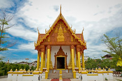 Temple in Renunakhon Nakhonphanom Thailand. Wat Phra That Renu, Temple in Renunakhon Nakhonphanom Thailand Stock Photos