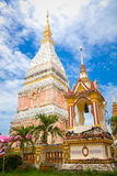Temple in Renunakhon Nakhonphanom Thailand. Wat Phra That Renu, Temple in Renunakhon Nakhonphanom Thailand Royalty Free Stock Images