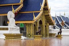 Temple, repaire d'interdiction de Wat Den Salee Sri Muang GanWat, Chiang Mai, Thaïlande Photo stock