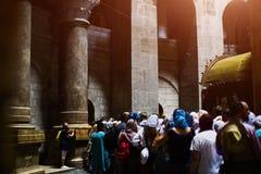 Temple of the resurrection of Christ, Jerusalem stock photography