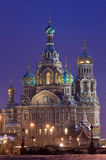 Temple of the Resurrection of Christ in Russia Royalty Free Stock Photos