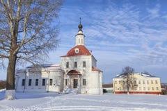 Temple of the Resurrection Slovusheye in Kolomna Stock Image
