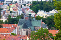 Temple of rise of Virgin Mary in Brno Royalty Free Stock Image