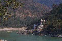 Temple in Rishikesh-I Royalty Free Stock Images