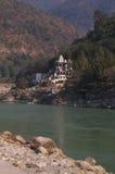 Temple in Rishikesh-II Stock Image