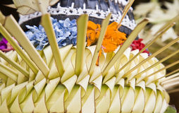 Temple ritual stock photography