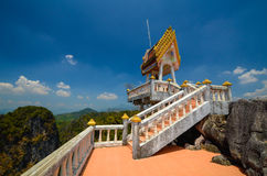 Temple on the rock. Royalty Free Stock Photos