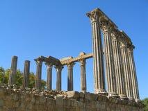 Temple romain Photo libre de droits
