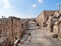 Temple romain, Jerash Photo libre de droits