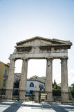Temple in the Roman Agora in Athens, Greece Royalty Free Stock Photography