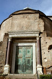 Temple of Romolo Royalty Free Stock Images