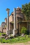 The Temple of Romulus (The basilica of Santi Cosma e Damiano), R Stock Photography