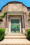 The Temple of Romulus in the Roman Forum, Rome Royalty Free Stock Photos