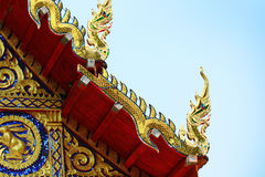 Temple roof Stock Photos