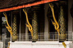 Temple Roof Architecture -  Luang Prabang, Laos Stock Image