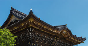 Temple Roof Detail Royalty Free Stock Photos