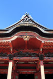 Temple roof and details, Tokyo, Japan Stock Image