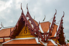 Temple roof Royalty Free Stock Photo