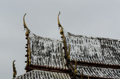 Temple roof Royalty Free Stock Images