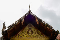 Temple roof Stock Photography